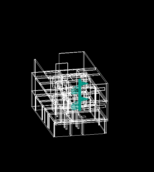 Descarga gratis casa habitacion planos y bloques en for Habitacion 3d autocad