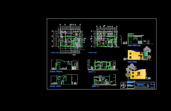 Descarga gratis coworking y vivienda planos y bloques for Software planos arquitectonicos