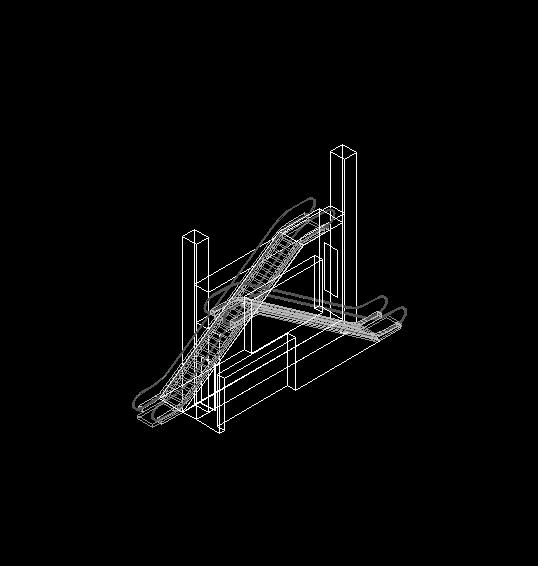Descarga gratis plano de escaleras electricas planos y for Escaleras para planos