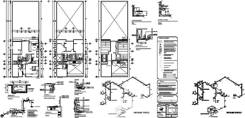 instalación hidraulica