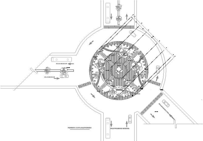 Propuesta de rotonda