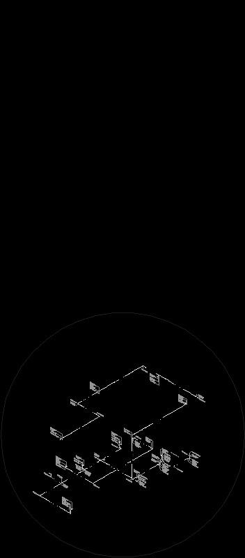 Isométrico Instalación Hidráulica