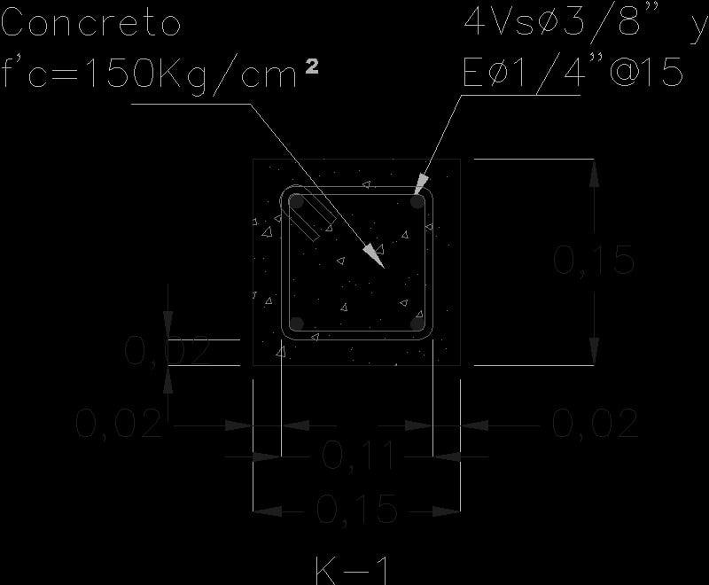 detalle castillo k-1, medidas 15x15cm