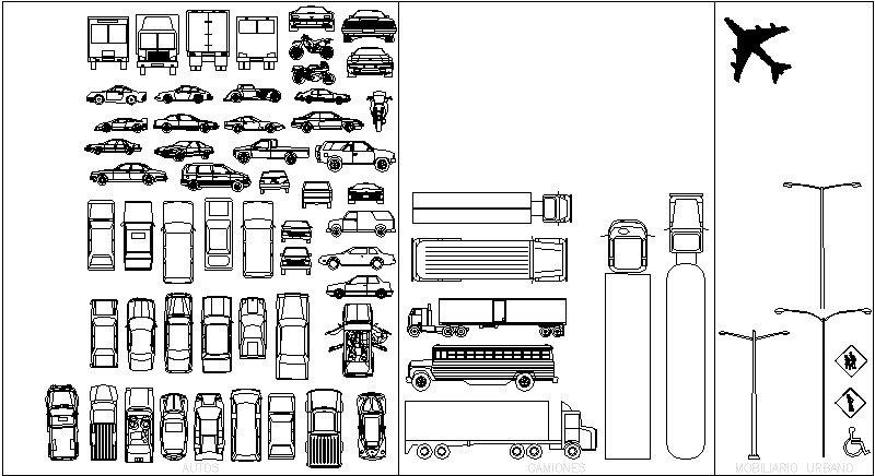 bloque de autos