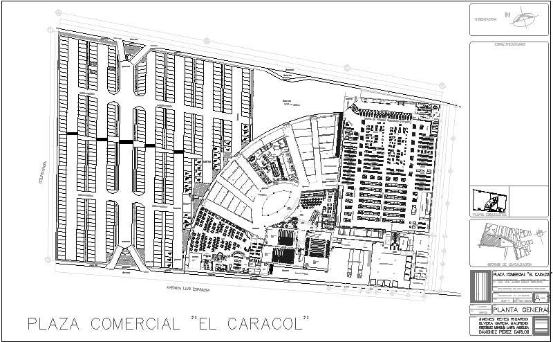 Ejemplo de Plaza Comercial
