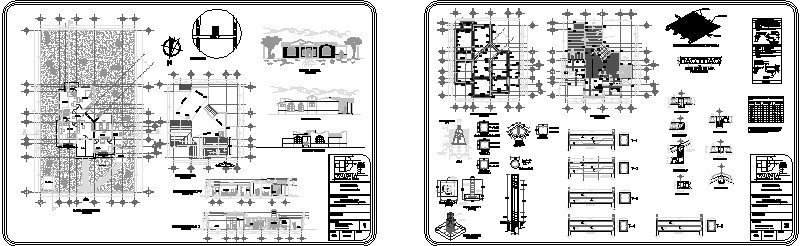 plano arquitectonico, losas, vigueta y bovedilla