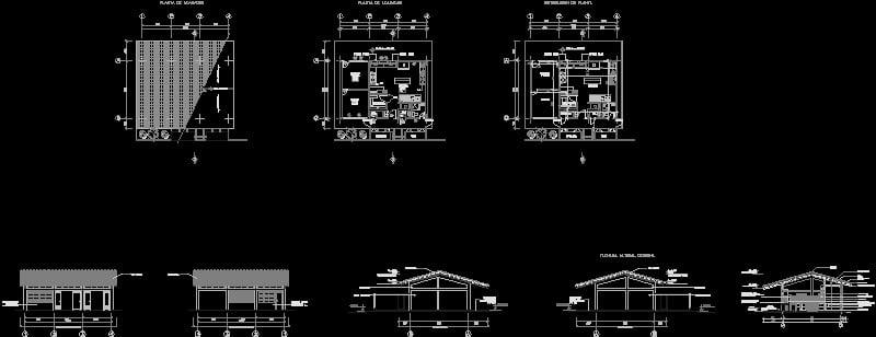 Area de cocina para escuela tipoR2