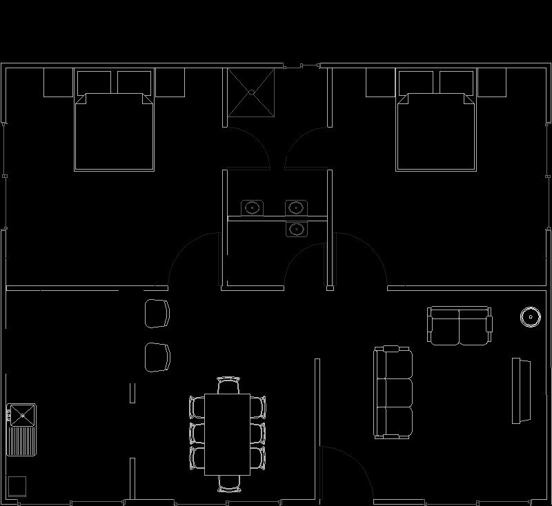Casa 8x10m