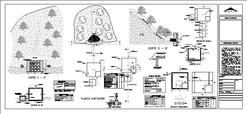 Obra De Captacion De Agua Potable