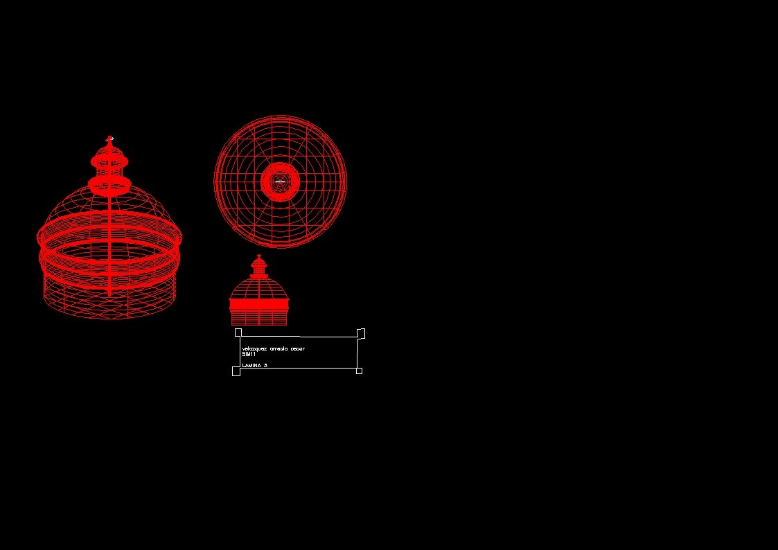 Cupula en 3d