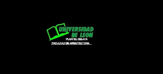 logo Universidad de Leon AutoCad