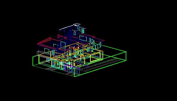 3d De Una Casa