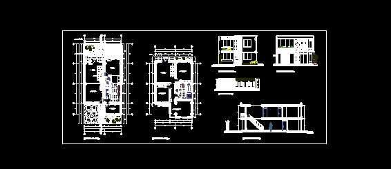 Descarga gratis vivienda unifamiliar de dos niveles for Software planos arquitectonicos