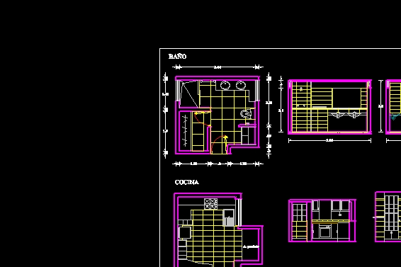 Descarga gratis ba o planos y bloques en autocad sobre arquitectura y construcci n - Bloques autocad banos ...