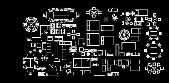 Bloques autocad descarga gratis de planos archivos y for Muebles de oficina 3d autocad
