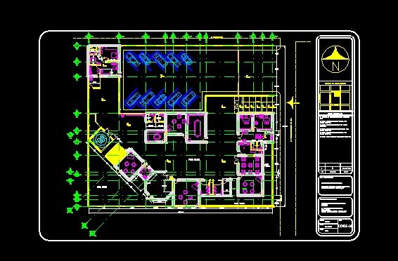 Descarga gratis kinder planos y bloques en autocad for Software planos arquitectonicos