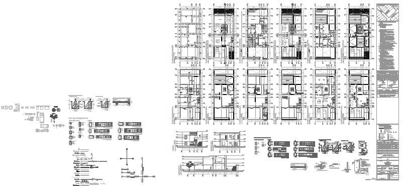 Plano permisero casa 2 pisos