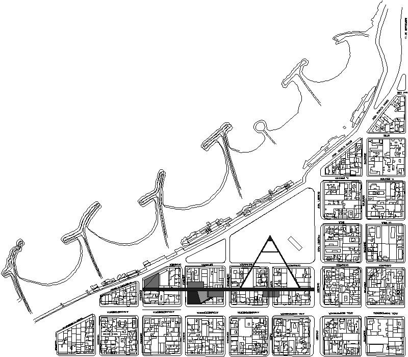 Plano plaza españa Mar del plata
