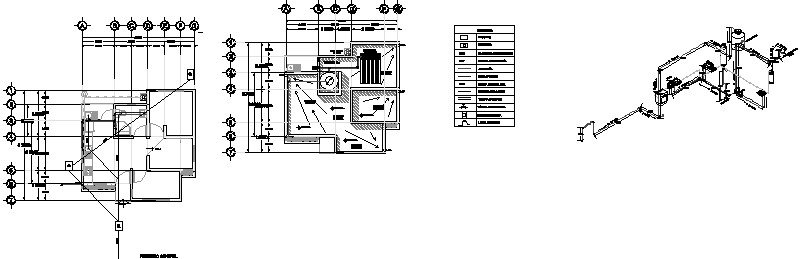 Departamento Hidraulico Con Isometrico