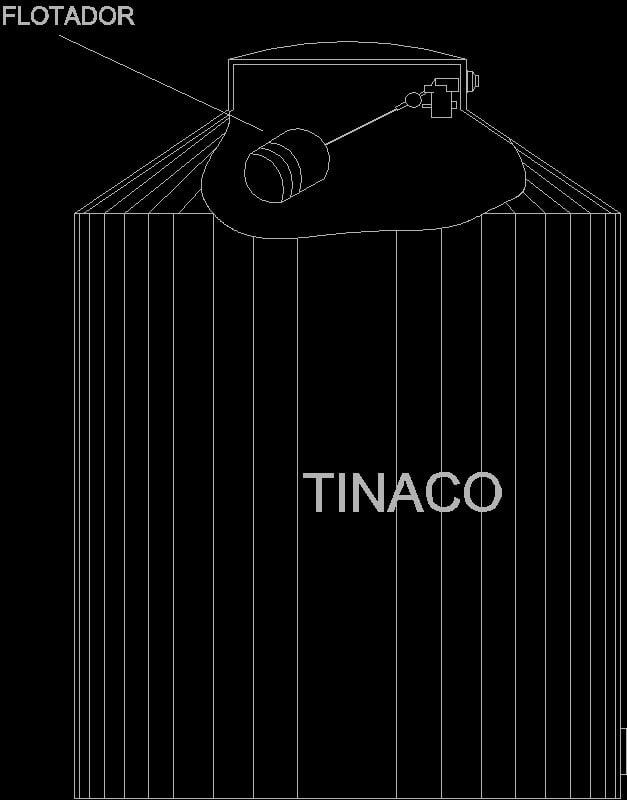 Tinaco 1100