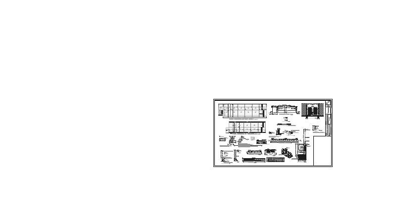 Planta estructural de techos