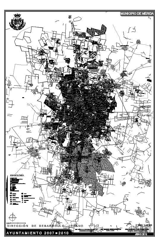 plano municipal de merida