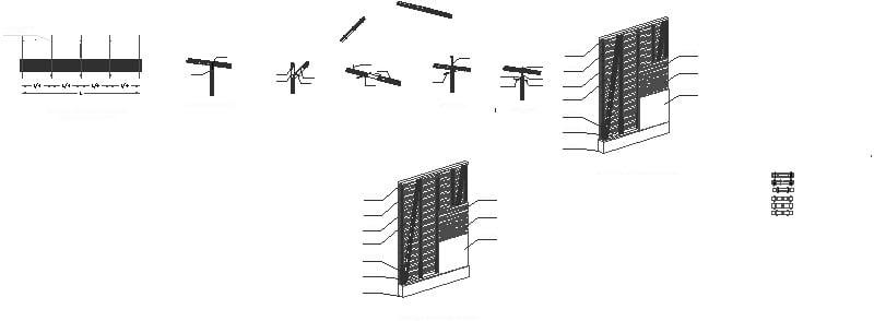 detalles de bambú