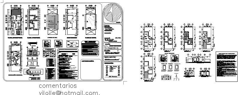 Casa de pocos metros cuadrados