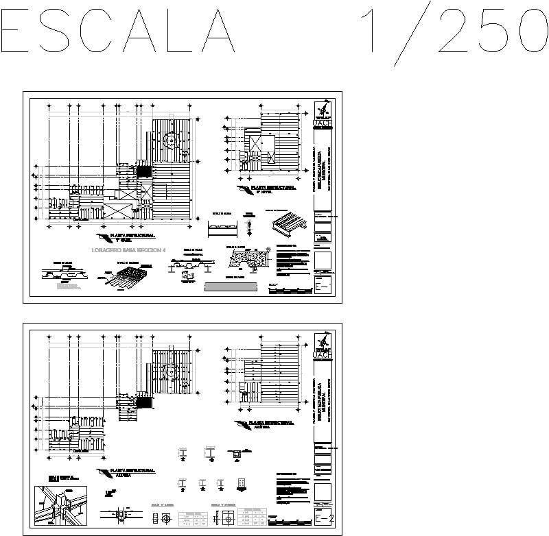 Plano Estrutural-biblioteca