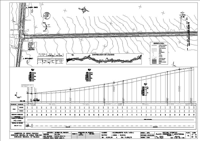 planos de obras viales parte 2