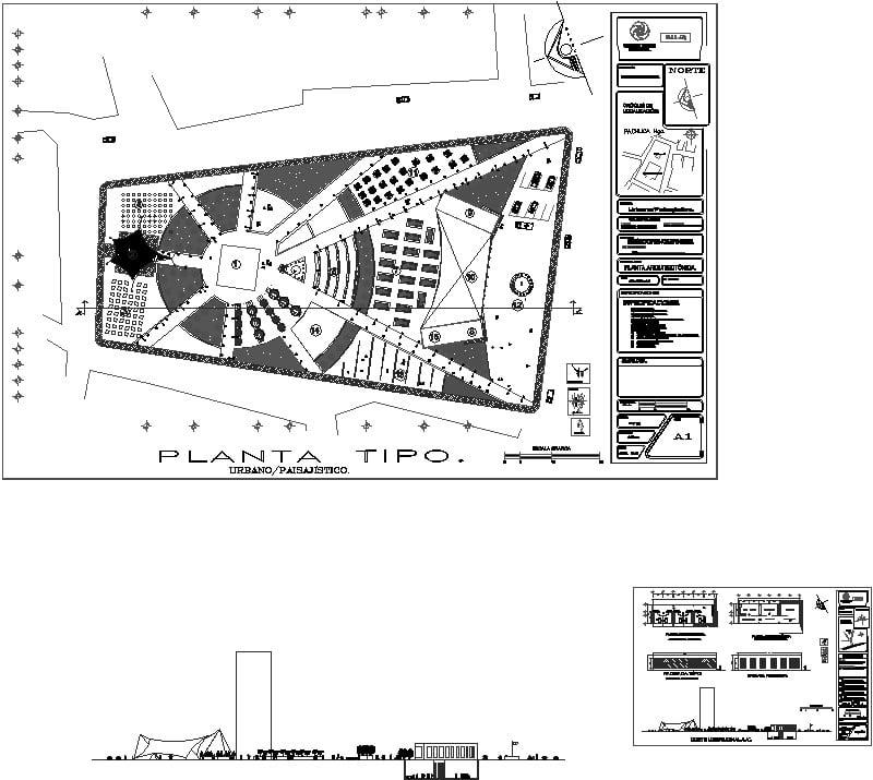 plaza revitalizacion de espacio urbano