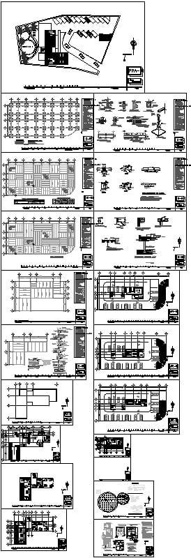 Planos Arquitectonicos Edificio De Lofts