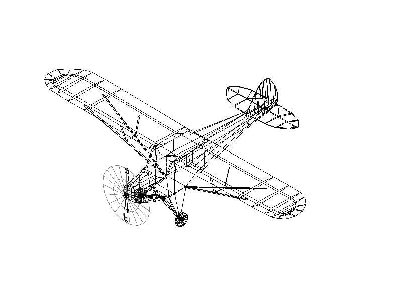 Avioneta en 3D