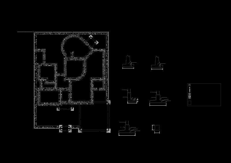 plano de cimentacion