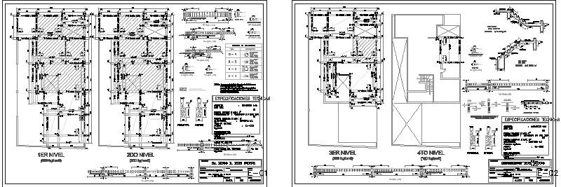plano de estructuras