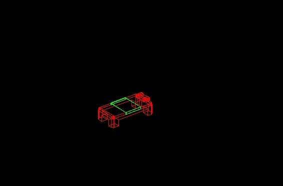 Descarga gratis cama 3d planos y bloques en autocad for Cama 3d autocad