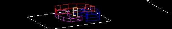 Plaza Comercial Volumenes Conceptuales 3D