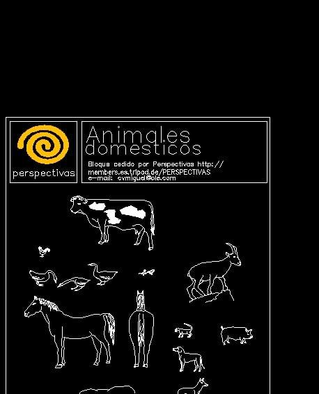 Bloque animales domésticos