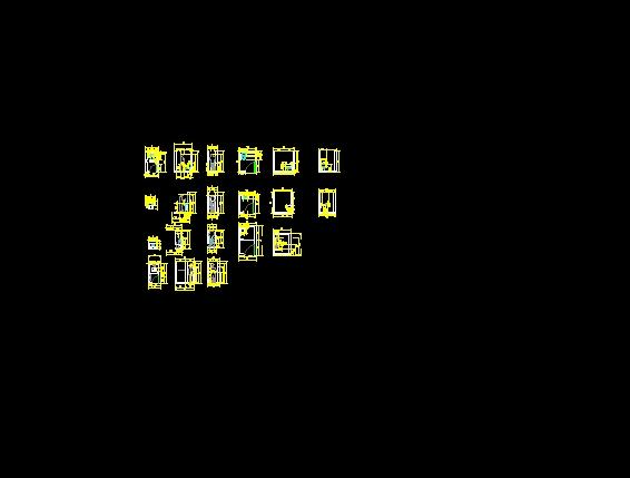 Descarga gratis ba os y modulos planos y bloques en autocad sobre arquitectura y construcci n - Bloques autocad banos ...