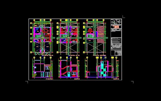 Descarga gratis plano arq casa habitacion planos y for Plano habitacion online