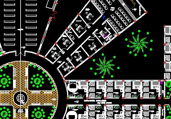 Descarga gratis casa de retiro planos y bloques en for Software planos arquitectonicos