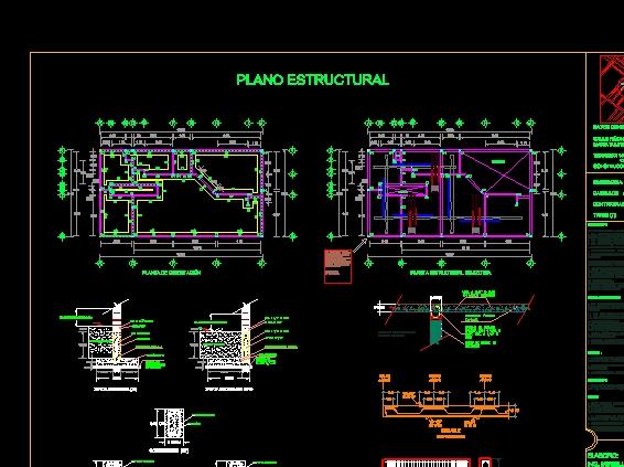 Descarga gratis detalle estructural de una casa for Detalles de una casa