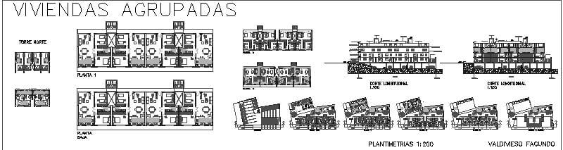 viviendas agrupadas