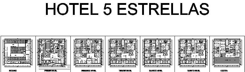 Plano De Hotel 5 Estrellas