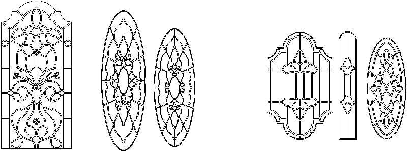 moldes vitrales