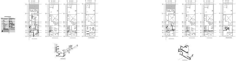 Plano hidrosanitario Casa Giraldi