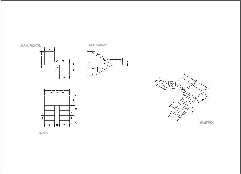 Isometrico Escalera