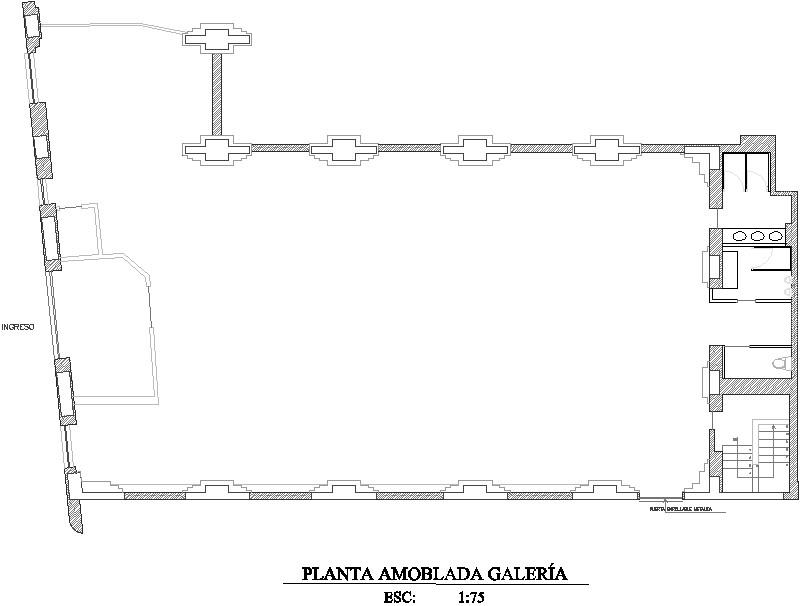 Detalle Instalacion Electrica De Galeria