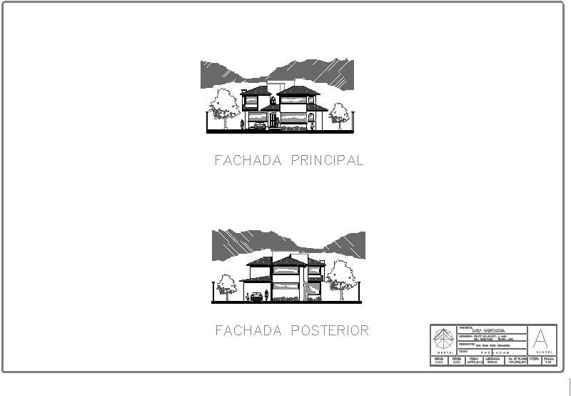 Fachadas Casa-Habiación