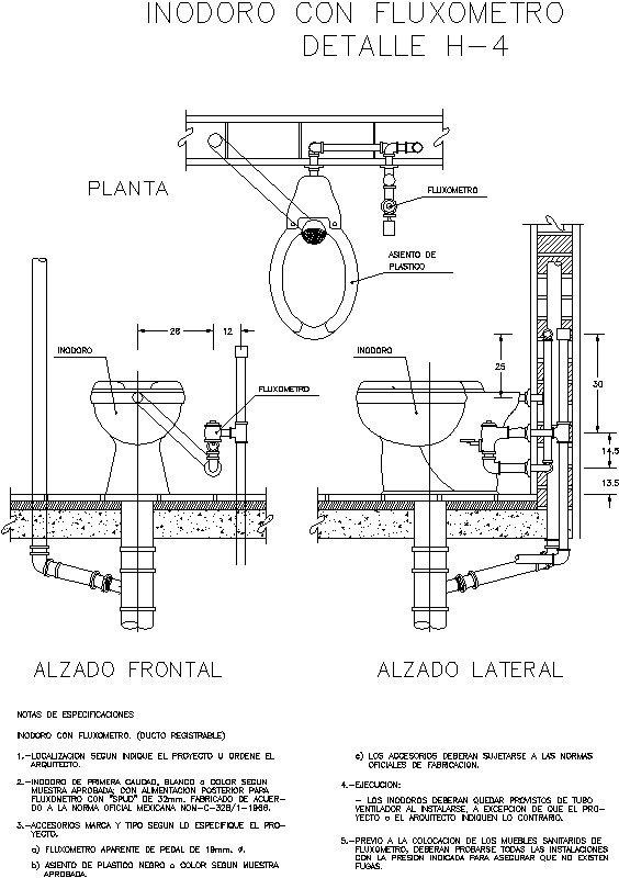 Detalle De Fluxometro